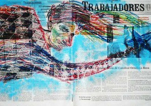 Artwork by El Sexto
