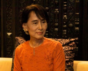 Aung San Suu Kyi has her leadership challenged as Muslims are targeted in Burma.