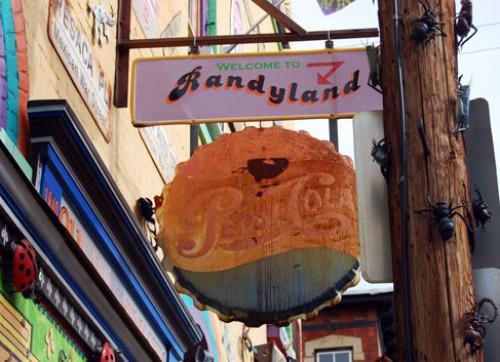 Randyland Entrance