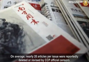 China's Southern Weekly Newspaper is not the only media outlet feeling the effects of censorship.