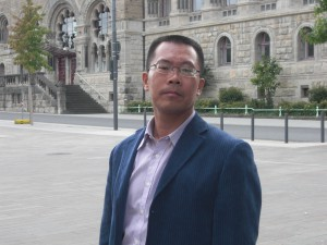 Human rights activist and lawyer Teng Biao. Photo: Courtesy of Tienchi Marin-Liao.