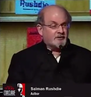 salman rushdie freedom of expression essay Dans ses mémoires publiées en 2012, joseph anton, salman rushdie livre un   hero, spokesperson, freedom of speech's knight, but also as a man caught up  with  rushdie had theorised his own view of committed writing in his essays.