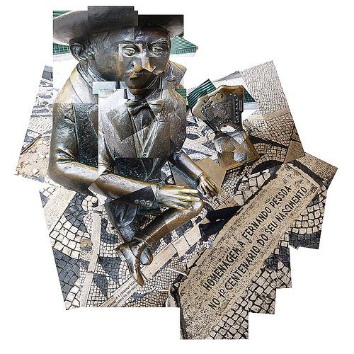 Fernando Pessoa Collage