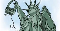 Cartoon: New Liberty