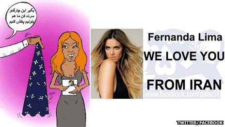 Fernanda Lima The Iranian Response
