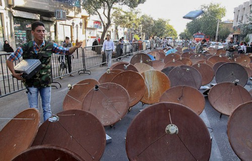 Iran Satellite Dishes