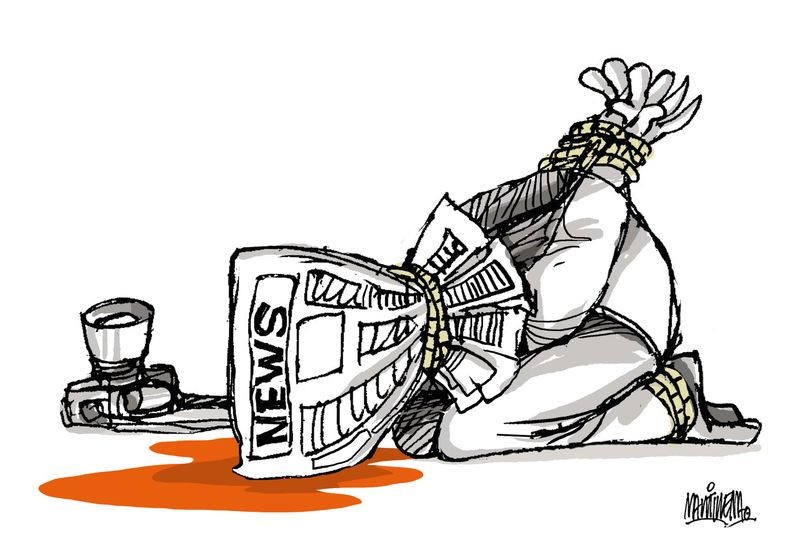 Cartoon Movement: Journalists Killed