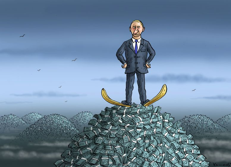 Cartoon: Putin's Sochi