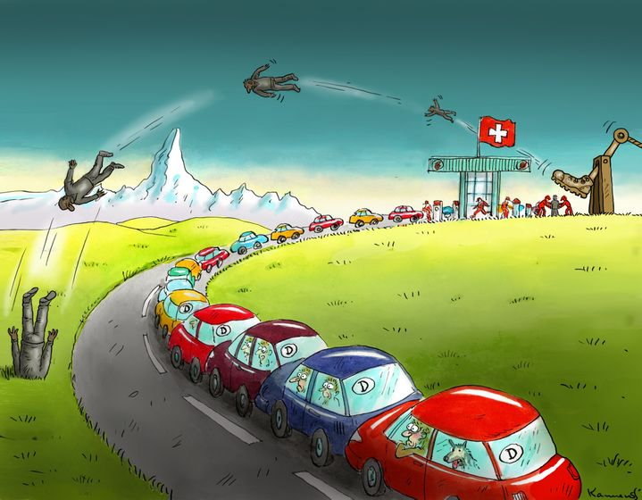 Cartoon: Switzerland Makes Strong