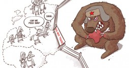 Cartoon: Baltic Countries and Bear