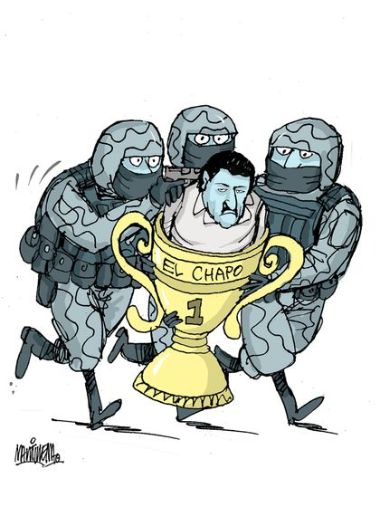 Cartoon- The Trophy