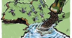Cartoon- With Emphasis on Crimea