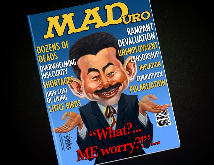 Cartoon: MADuro