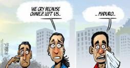 Cartoon: March 5 in Venezuela...