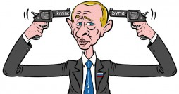 Cartoon: Russian Roulette