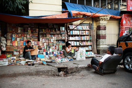 Bookshop in Yangon