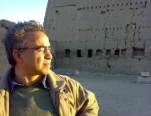 Egyptian author and human rights activist, Karam Saber. Photo: Karam Saber