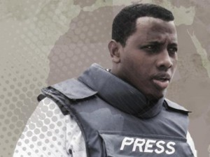 Mustafa Haji Abdinur works as correspondent for Agence-France-Presse in Mogadishu and is founder and editor-in-chief of the independent station Radio Simba.  Photo: IFEX