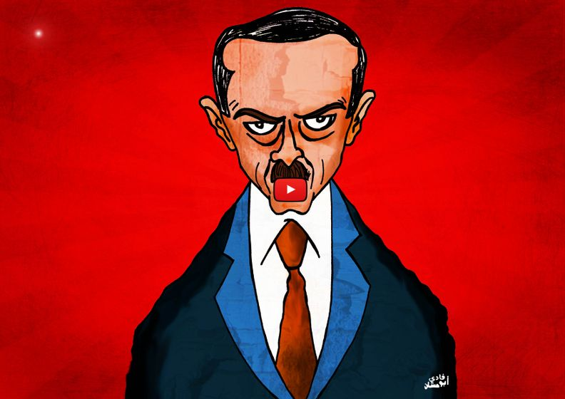 Cartoon: Erdoğan Prevents Youtube in Turkey After Twitter