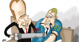 Cartoon: Europe's Dependency