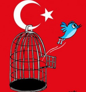 Cartoon: Free Twitter