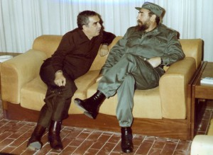 Gabriel García Márquez and Fidel Castro Photo courtesy of Orlando Luis Pardo Lazo.