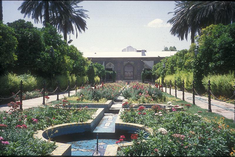 Ghavam Garden in Shiraz, Iran