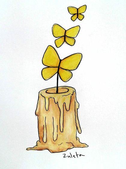 Cartoon: Fin de Cien años de soledad