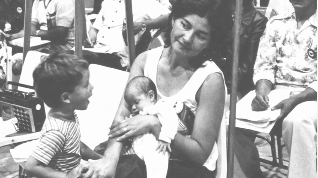 Rebecca Flores and Children
