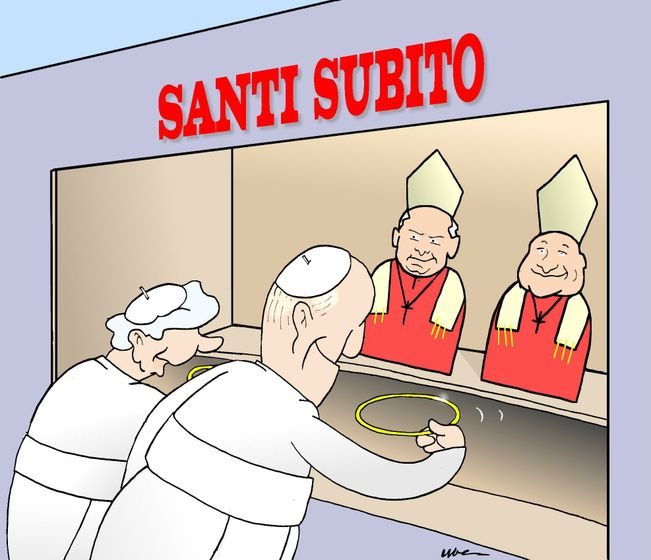 Cartoon: Instant Saints