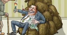 Berlusconi's social work