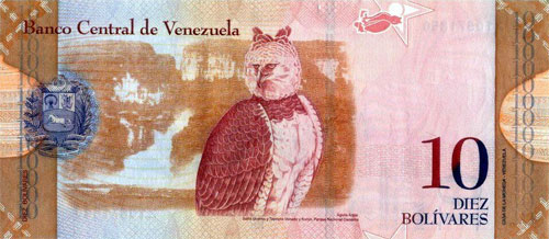 10 Bolívars