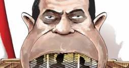 Cartoon: Egypt's President Sisi and Jailed Journalists