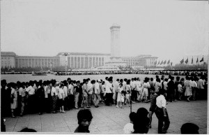 Tiananamen Square a year before the massacre. Credit: tiarescott via Flikr