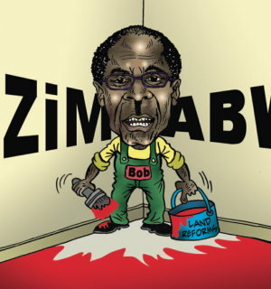 Cartoon: Mugabe's Land Reforms