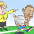 Cartoon: Red Card
