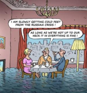 Cartoon: Russian Crisis
