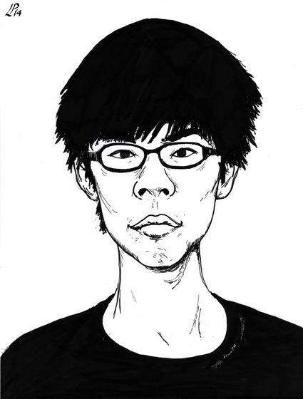 Cartoon: Joshua Wong