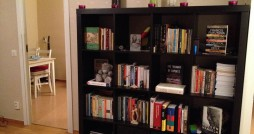 Mesfin Negash's own exiled shelf.