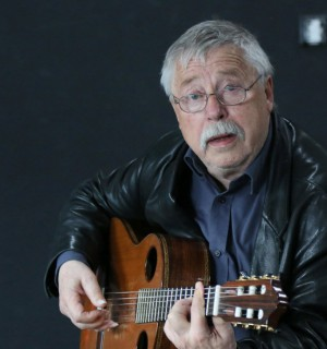 German dissident musician Wolf Biermann. Photo provided by the author.