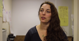 Cuban dissident artist Tania Bruguera. Photo via Youtube user: ArtRootsProject's Channel.