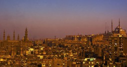 The sun sets over Egypt's current capital, in Cairo. Photo via Flickr user: Marwa Morgan