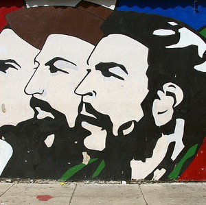 A mural in Havana. Parts of Santo Domingo will need to be transformed to resemble the capital of Cuba. Photo via Flickr user: Ed Yourdon
