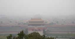 The forbidden city in the smog. Photo via Flickr user: John Chandler.