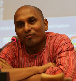 Ruki Fernando's reportage on Tamil human rights issues has led to his arrest. Photo provided by Mr. Fernando.