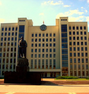 House of Government, Minsk, Belarus. Photo by Flickr user: Ferry Vermeer.