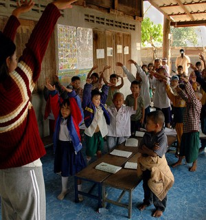 Censorship has resulted in a poor education system and a population with low media literacy in Burma. Photo via Flickr user:  Attila Husejnow.