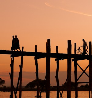 U Bein Bridge, Myanmar. Photo Courtesy of Staffan Scherz.
