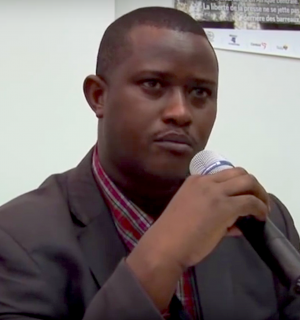 Alexandre Niyungeko. Photo courtesy of YouTube.
