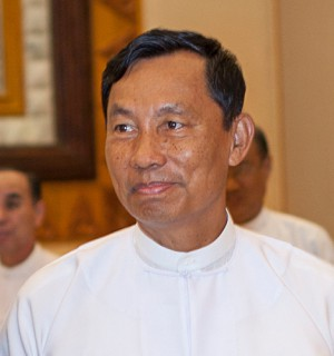 Shwe Mann, Chairman of the Burmese ruling Union Solidarity and Development Party (USDP), was removed on August 13. Photo via: Wikimedia Commons.
